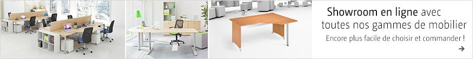 Showroom en ligne avec toutes nos gammes de mobilier Encore plus facile de choisir et commander!