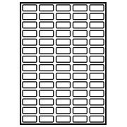 Etiquettes papier pour imprimante laser