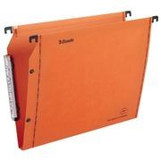 Hangmappen voor kasten 33 cm Premium kraft LMG Esselte normale bodem oranje