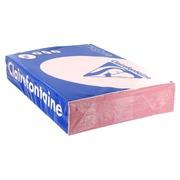 Papier kleur A4 80 g zalm Clairefontaine Trophée pastelkleuren - Riem van 500 vellen