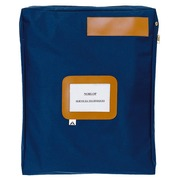 Sleeve for mail with bellows Alba 40 x 50 cm blue