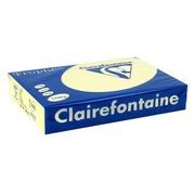Riem 250 vellen gekleurd papier A4 160 g Clairefontaine Trophée pastelkleuren blauw