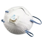 Masque protection 3M 8822 FFP2 avec soupape - Boîte de 10