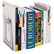 Set van 2 transparante boekensteunen