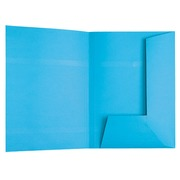 Pack of 100 subfolders for suspension files, blue