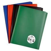 Protège-documents Eco polypropylène opaque A4 20 pochettes - 40 vues coloris assortis