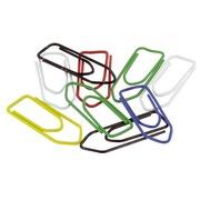 Box von 100 Büroklammern 32 mm - in 4 Farben