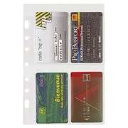 Refill sleeves for visit cards for Exatime 21 (ref 28208E)