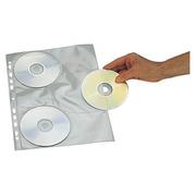Zakje 10 geperforeerde hoesjes voor 3 CD's