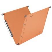 Hangmappen voor kasten 33 cm Premium kraft LMG Esselte bodem 30 mm oranje