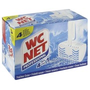 Box of 4 blocks WC Net 4-in-1 ocean freshness