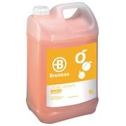 Bottle of 5 L washing cream Bruneau perfume apricot