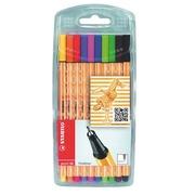 Box of 10 felt-tip pens Stabilo Point 88