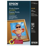 Papier photo glacé Epson A4 200 g - 50 feuilles