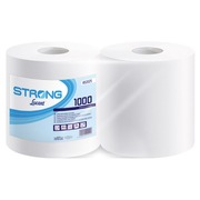Industrial white spools with 2 layers - 1000 sheets