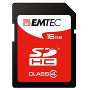 Carte mémoire SD Emtec 16 Go - classe 4