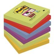 Notes kleuren Marrakech Super Sticky Post-it 76 x 76 mm - 1 blok 90 blaadjes van 1 kleur.