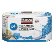 Box of 4 universal refills for humidity absorber Rubson Basic