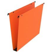 Hängeregister für Schubladen 33 cm in Kraftpapier Premium Bruneau Boden 30 mm orange