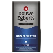 Packung 250 g Douwe Egberts gemahlener Kaffee Deca (blau)