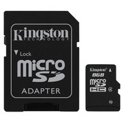 Kingston - Flash-Speicherkarte - 8 GB - microSDHC