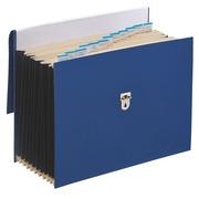 Sorteervak plastic Emey met balgen 12 onderverdelingen blauw