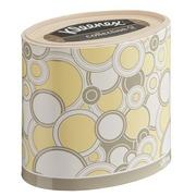 Ovalförmige Taschentücher-Box Kleenex - 64 Taschentücher
