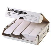 Etiquette affranchissement 1 de front 170 x 45 mm Apli Agipa blanche - Boîte de 1000
