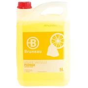 Liquide vaisselle mains Bruneau citron - Bidon de 5 litres