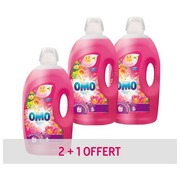 Pack of 2 cans liquid washing product Omo Tropical Syringa & Ylang Ylang + 1 free