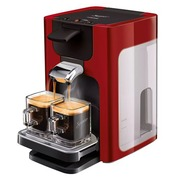 Philips Senseo Quadrante HD7865 - coffee machine - intense red