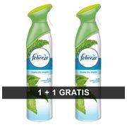 Ontgeurder Febreze parfum ochtenddauw 300 ml - 1 + 1 gratis