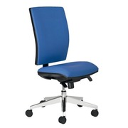 Office chair Bruneau Activ' synchronic with seat adaptation blue
