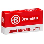 Staples Bruneau 24/6 galvanized - box of 1000