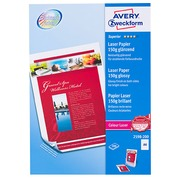 Avery Laser Paper Glossy Finish A4 150 g - 200 Sheets