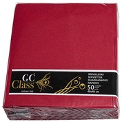 Nonwoven Napkins Burgundy 40 x 40 cm - 50 Units
