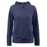 Printer Switch Lady Fleece Hoodie Bright Marine XS