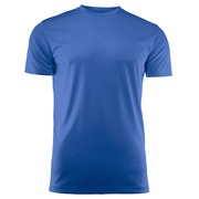 Run Active t-shirt Blauw 4XL