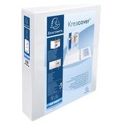Ringmap Kreacover® PP personaliseerbaar - 2 vakken - 2D-ringen 50mm - A4 maxi