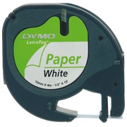 Ribbon white paper for Dymo Letratag