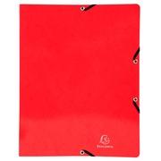 Ringbuch mit Gummizug, 2 Ringe 15mm, Rücken 20mm, 32x25cm für DIN A4 - Iderama - Farben sortiert (54829E)