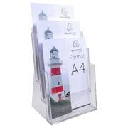 Folderhouder monoblok - 3 vakken - A4