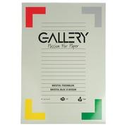 Gallery bloc de dessin 200 g/m², Bristol, 20 feuilles, ft 29,7 x 42 cm (A3)