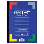 Gallery orderbook