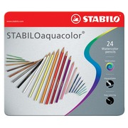 Stabilo kleurpotlood Aquacolor 24 potloden
