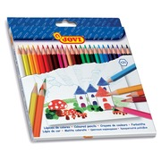 Jovi crayon de couleur 24 crayons