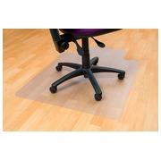 5 Star tapis de sol pour des surfaces dures, avec entaille, ft 115 x 134 cm