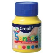 Creall gouache au doigt Senses, boîte de 6 bouteilles de 500 ml