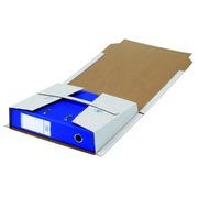 Loeff's verzenddoos voor ordners, ft 320 x 290 x 80 mm, wit, pak 25 stuks