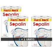 Set met 2 pakken van 12 rollen Sopalin + 1 gratis